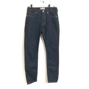Everlane Dark Wash High Rise Skinny Jeans